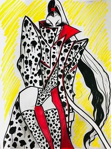 The Blonds' Sketch Inspired by Cruella de Vil