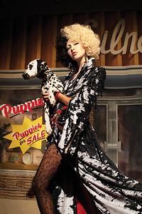 Photographer and model Nadia Lee Cohen inspired by Cruella De Vil