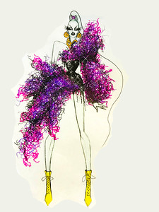 The Blonds' Sketch Inspired by Ursula