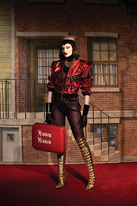 Photographer Nadia Lee Cohen and model Katia Selinger inspired by The Evil Queen
