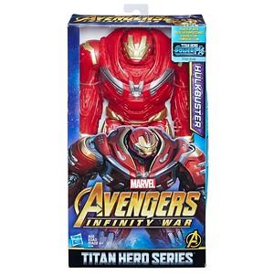 MARVEL AVENGERS: INFINITY WAR TITAN HERO 12-INCH DELUXE Figures - Hulkbuster