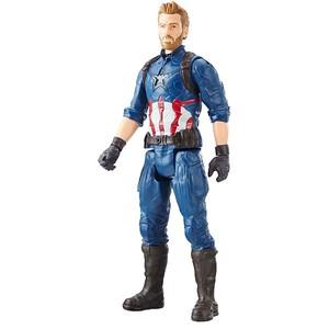 MARVEL AVENGERS: INFINITY WAR TITAN HERO 12-INCH Figures - Captain America