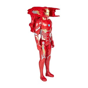 MARVEL AVENGERS: INFINITY WAR TITAN HERO 12-INCH POWER FX Figures - Iron Man