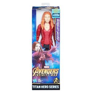 MARVEL AVENGERS: INFINITY WAR TITAN HERO 12-INCH Figures - Scarlet Witch