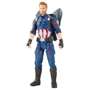 MARVEL AVENGERS: INFINITY WAR TITAN HERO 12-INCH POWER FX Figures - Captain America
