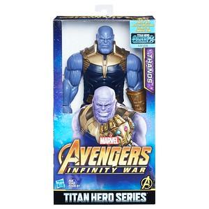 MARVEL AVENGERS: INFINITY WAR TITAN HERO 12-INCH DELUXE Figures - Thanos