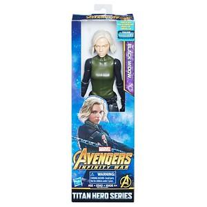 MARVEL AVENGERS: INFINITY WAR TITAN HERO 12-INCH Figures - Black Widow