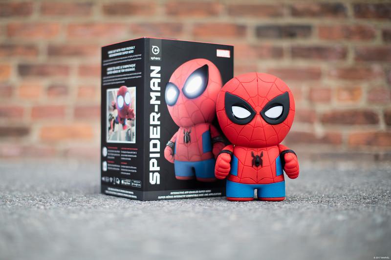 Spider-Man Interactive App-Enabled Super Hero Powered by Sphero