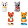 Furrytale Friends Aristocats Family Pack Playset