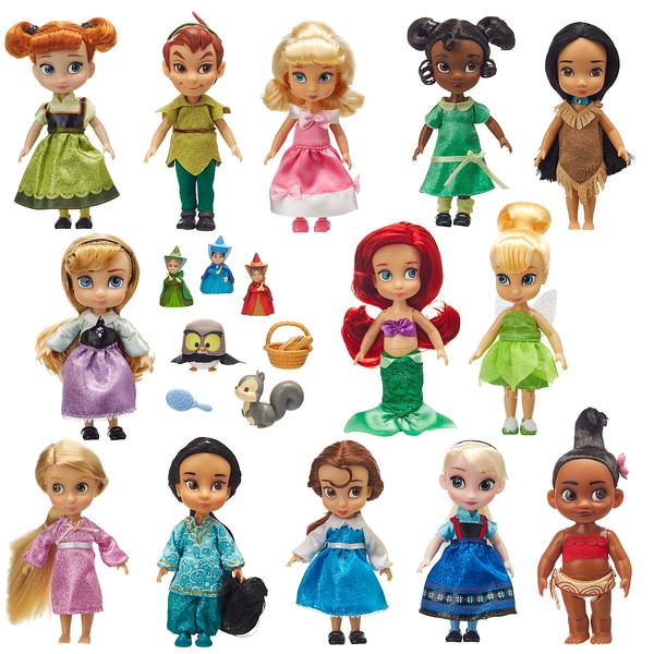 Animator 5 inch 12 Pack of Dolls