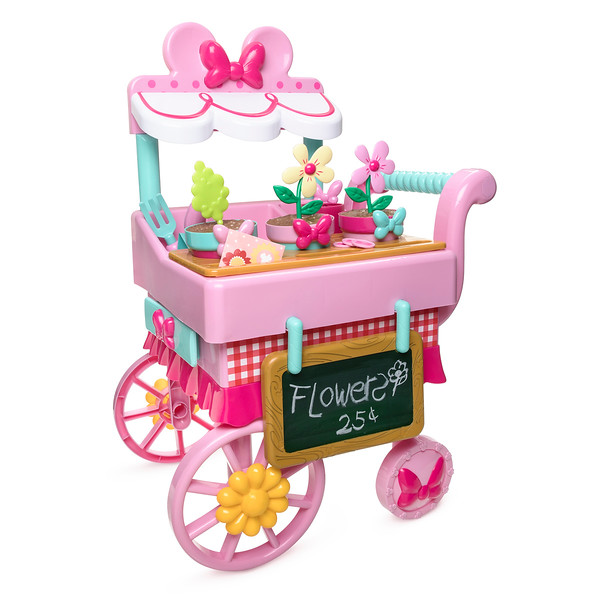 Minnie Mouse Flower Cart