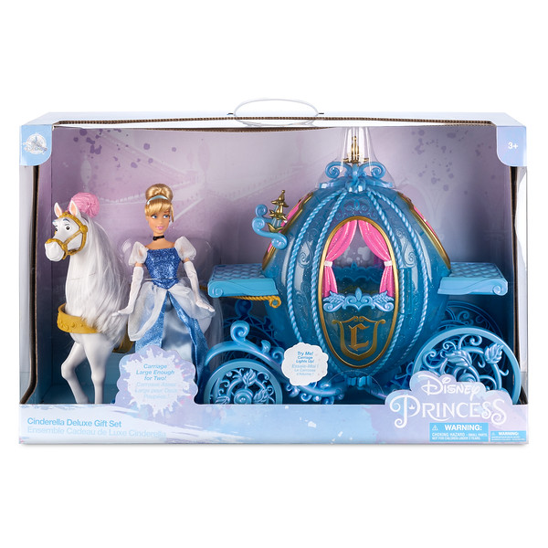 Cinderella and Carriage Deluxe Gift Play Set