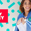 Ariel Chambray Bomber Jacket for Women
