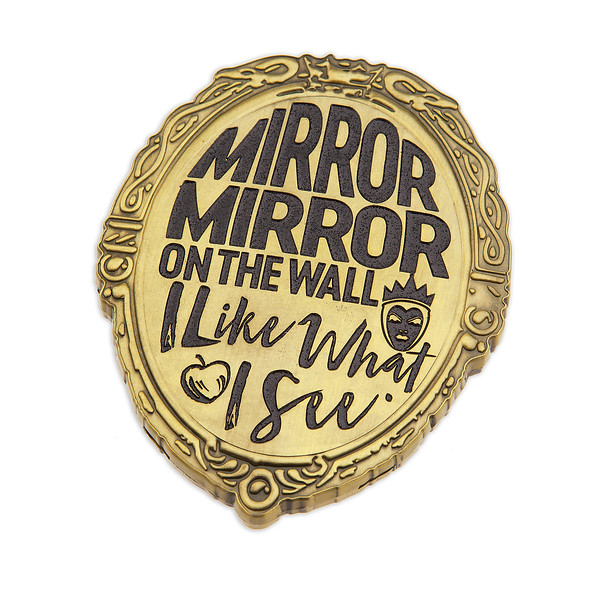 Evil Queen Glass Compact Mirror