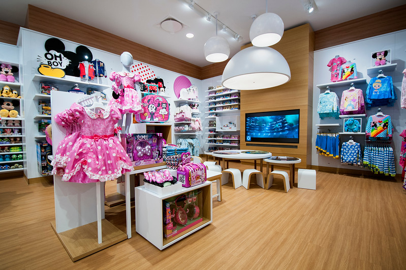 Disney store at Westfield Century City in Los Angeles, California