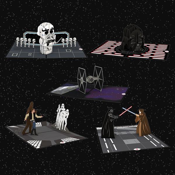 Star Wars™ Dark Side Limited Edition 5-Pack - $52