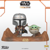 Funko Pop! Moment featuring the Mandalorian™ and the Child