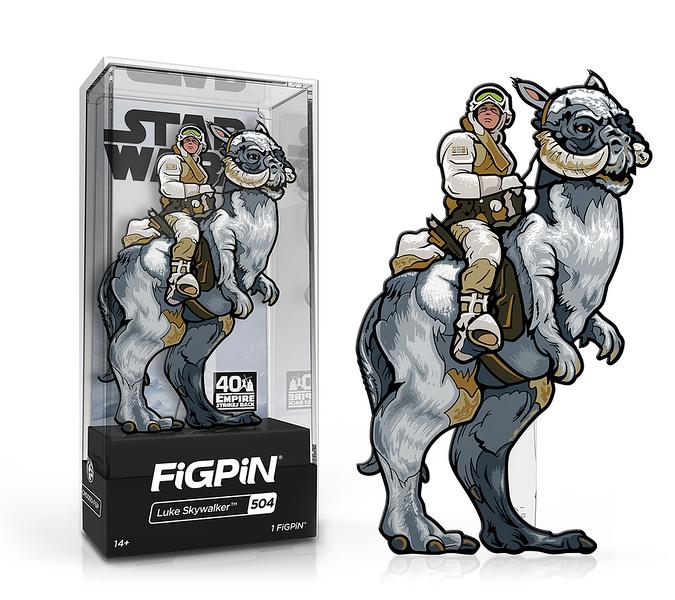 FiGPiN Classic: Star Wars - Luke Skywalker #504 - $20