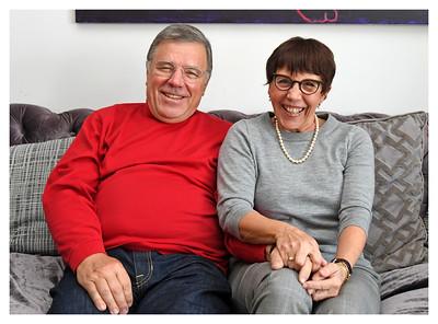 BROOKLYN, NEW YORK - DECEMBER 16, 2017:  Frank Birchfield and Vanessa Gomes family portrait series at 184 Kent Avenue on December 16, 2017 in Brooklyn, New York. (Photo by Lukas Maverick Greyson / lukasmaverickgreyson.com)