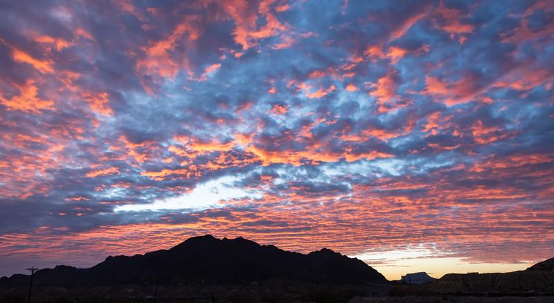 Sunrise, Study Butte, Texas