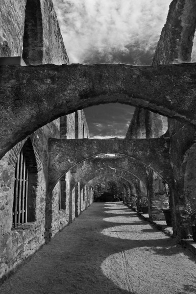 Mission San Jose BW
