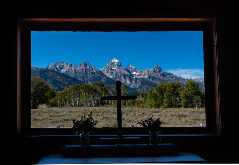 Church near Moose Junction, Tetons NP.