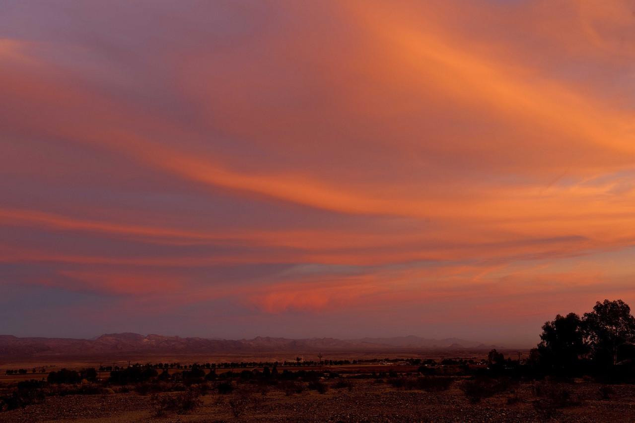 Sunset Needles CA Dec 8 10