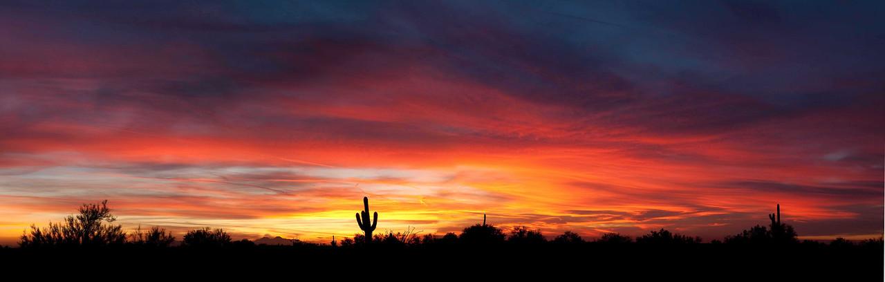 Sunset Apache AZ Dec. 10 2010
