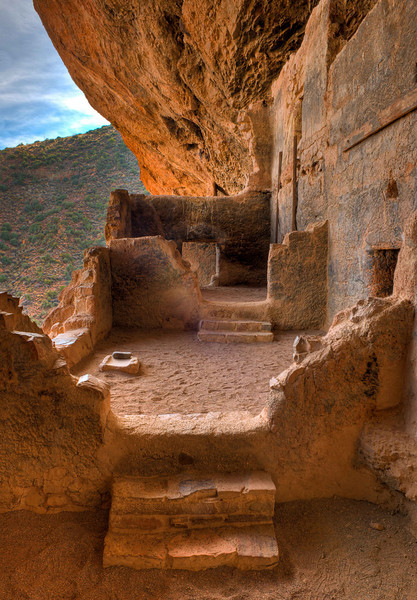 Tonto National Monument, Lower Ruins HDRI.
