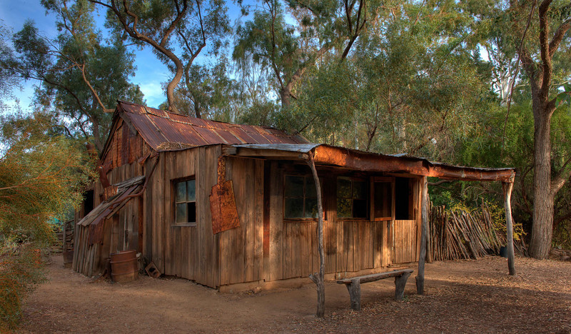 Arizona cabin HDRI near Superior.