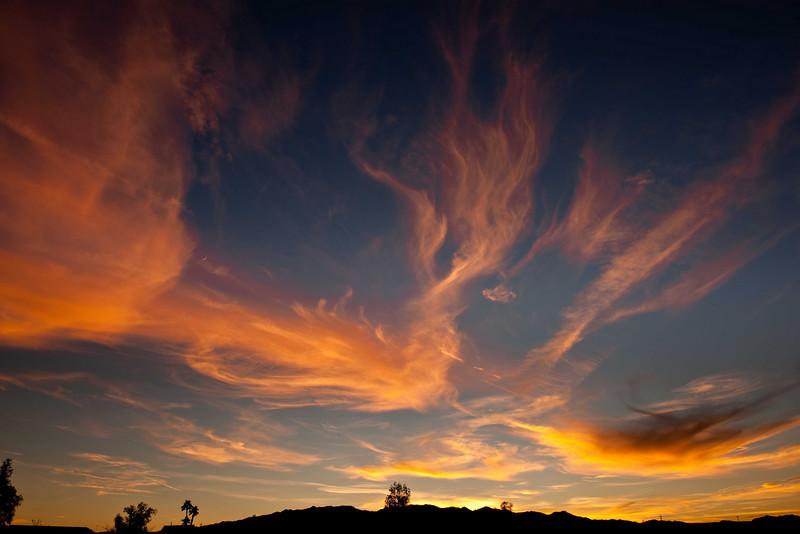 Sunset Needles CA Dec 8 10-2