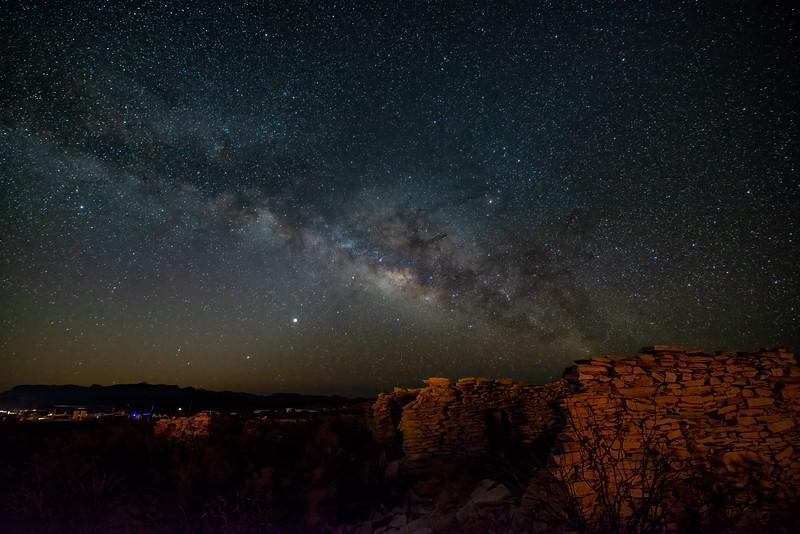 Milky Way over Terlingua, TX