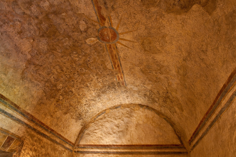 """Mission Concepcion, """"The Room of God's Eyes""""."""