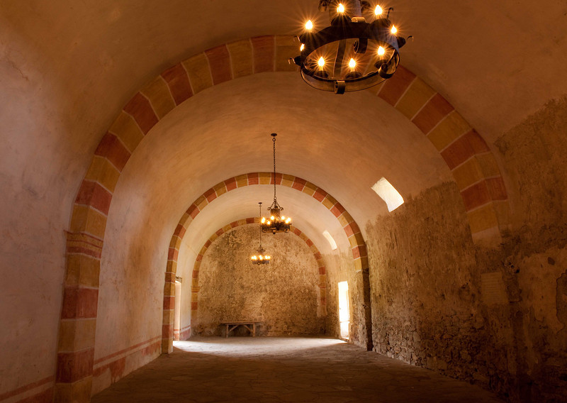 """Mission San Jose """"The Grainery""""."""