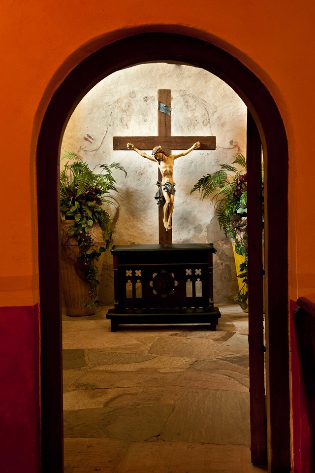 "Mission Concepcion, ""The Quiet Room""."