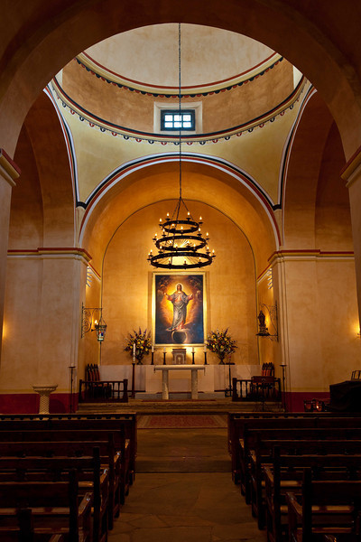 Mission Concepcion, the Alter in the main Chapel.