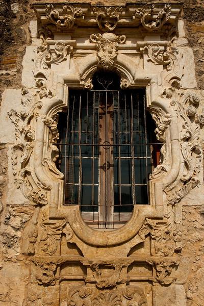 "Mission San Jose, ""Rose Window""."