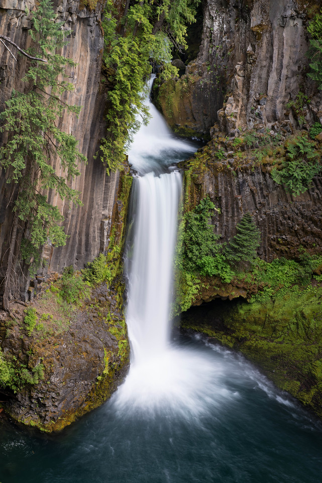 Toketee Falls, Oregon.