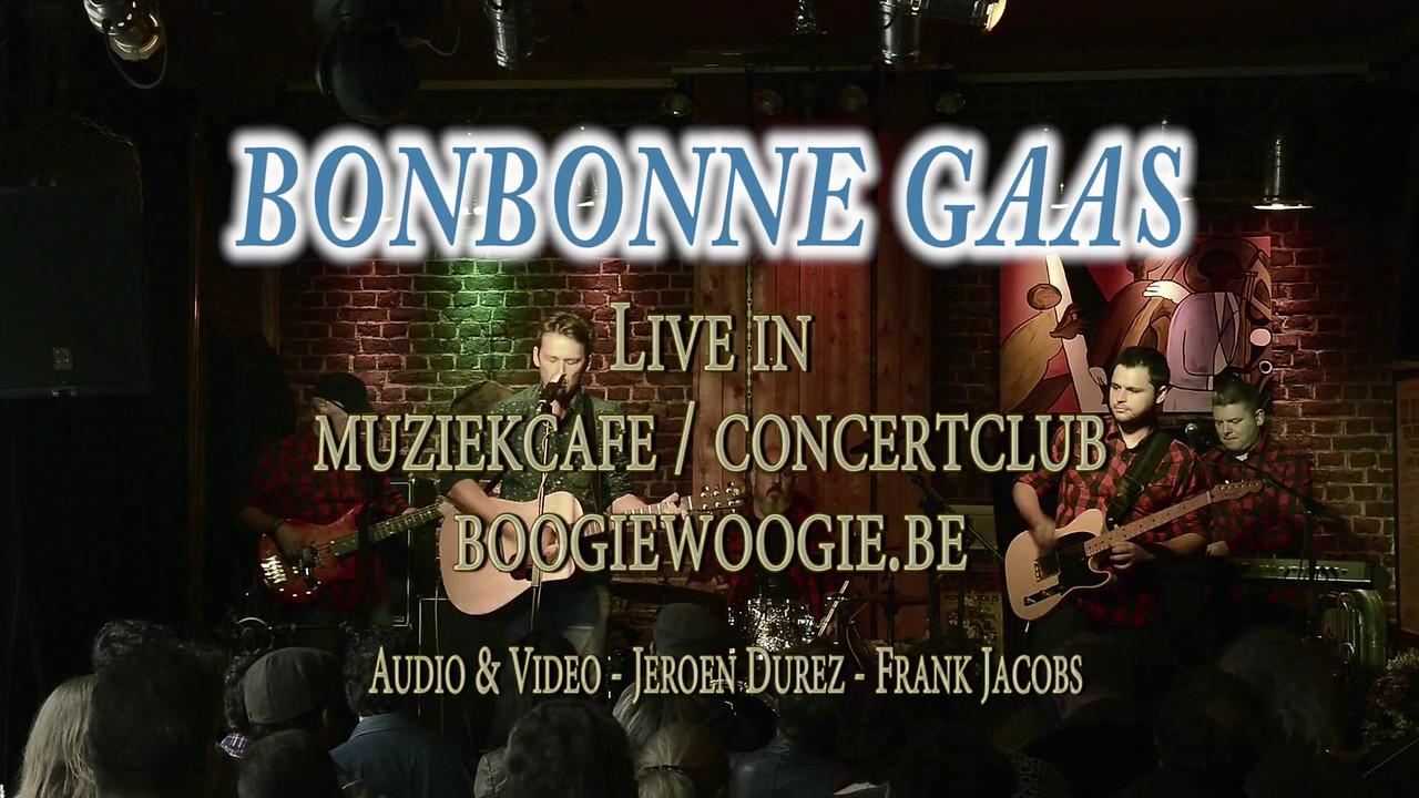 Bonbonne Gaas live @ www.boogiewoogie.be