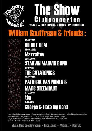 2009-11 | MARC STEENHAUT - PATRICIA VAN NUNEN - WILLIAM SOUFFREAU (THE SHOW)