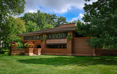Arthur B. Heurtley House; Oak Park, IL