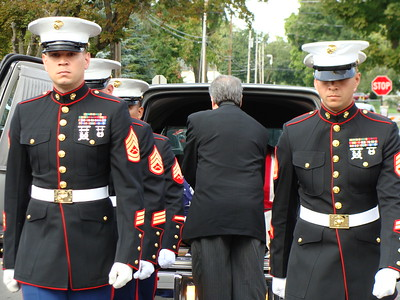 John Brewer - Oneida Daily Dispatch Marine Pvt. Frank Penna is laid to rest in Canastota more than 70 years after he was killed in the Battle of Tarawa on Nov. 20, 1943, during World War II.