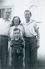 October 20, 1940. Frank, Gladys, Doug, Howard.