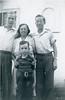 October 20, 1940. Frank, Gladys, Doug, Howard.
