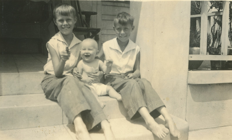 Frank, Doug, Howard. August 1934.