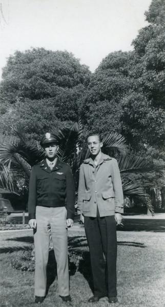 Frank and Howard, January 23, 1946.