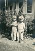 Frank McDonald and his cousin Robert James.