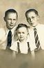 Frank, Doug, Howard. December 3, 1938.