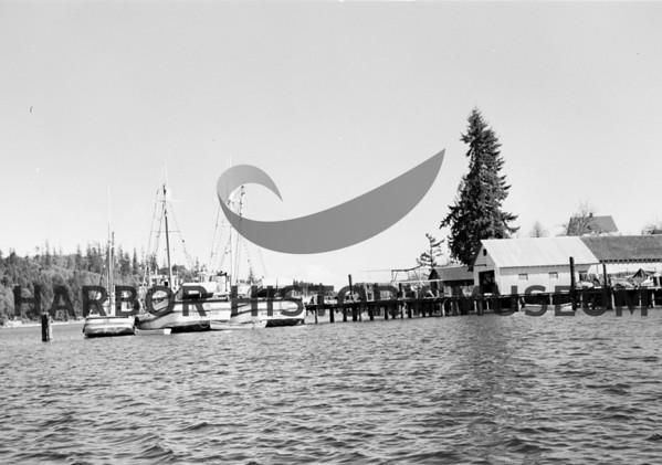 Norman B, Corregidor, Pacific Raider at Babich Dock