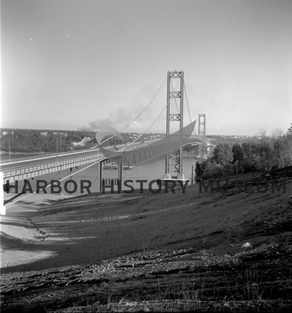 2nd Narrows Bridge looking east